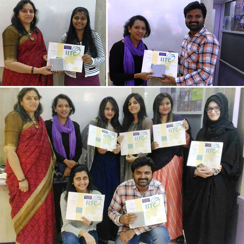 Fashion Designing Students Recruited in Fashion Industry by IITC after completion of course