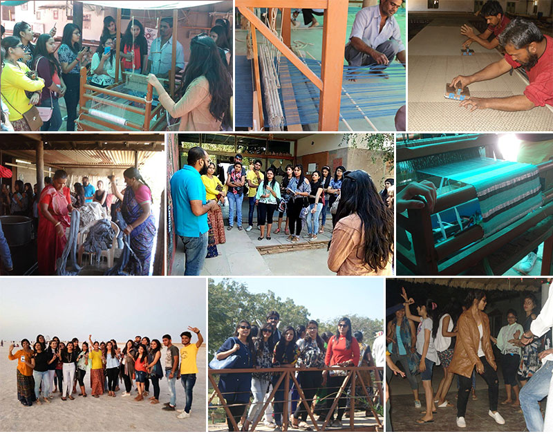 STUDY TOUR of Fashion Designing students to Kutch on 25th and 26th Feb 2017