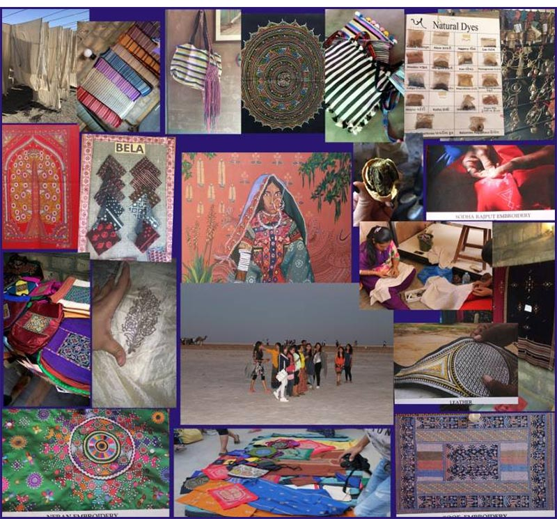 IITC Students experience the rich and diverse creative traditions of Kutch