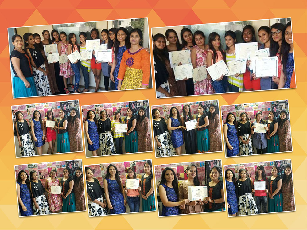 IITC Ahmedabad Faculty team facilitates FASHION DESIGNING students on their GRADUATION DAY
