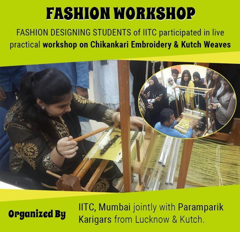 Practical workshop on Chikankari Embroidery & Kutch Weaves