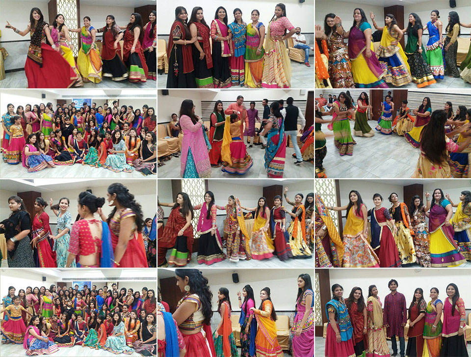 Ahmedabad swings to Garba, Dandiya beats arranged exclusively for their students by IITC on occasion of Sharad Poonam on Sunday, 16th October, 2016