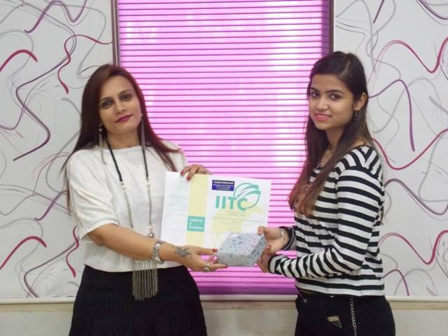 IITC Accessory Designing Students Graduation Ceremony