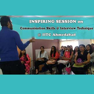 Sessions by Umesh Pherwani for IITC students on Communication Skills and Interview Technique