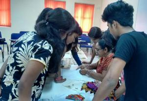 A practical workshop on SOOF Embroidery